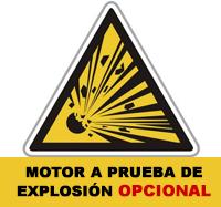 TAB Motor a Prueba de Explosión OPCIONAL
