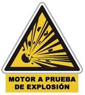 SW-XP Motor a Prueba de Explosión